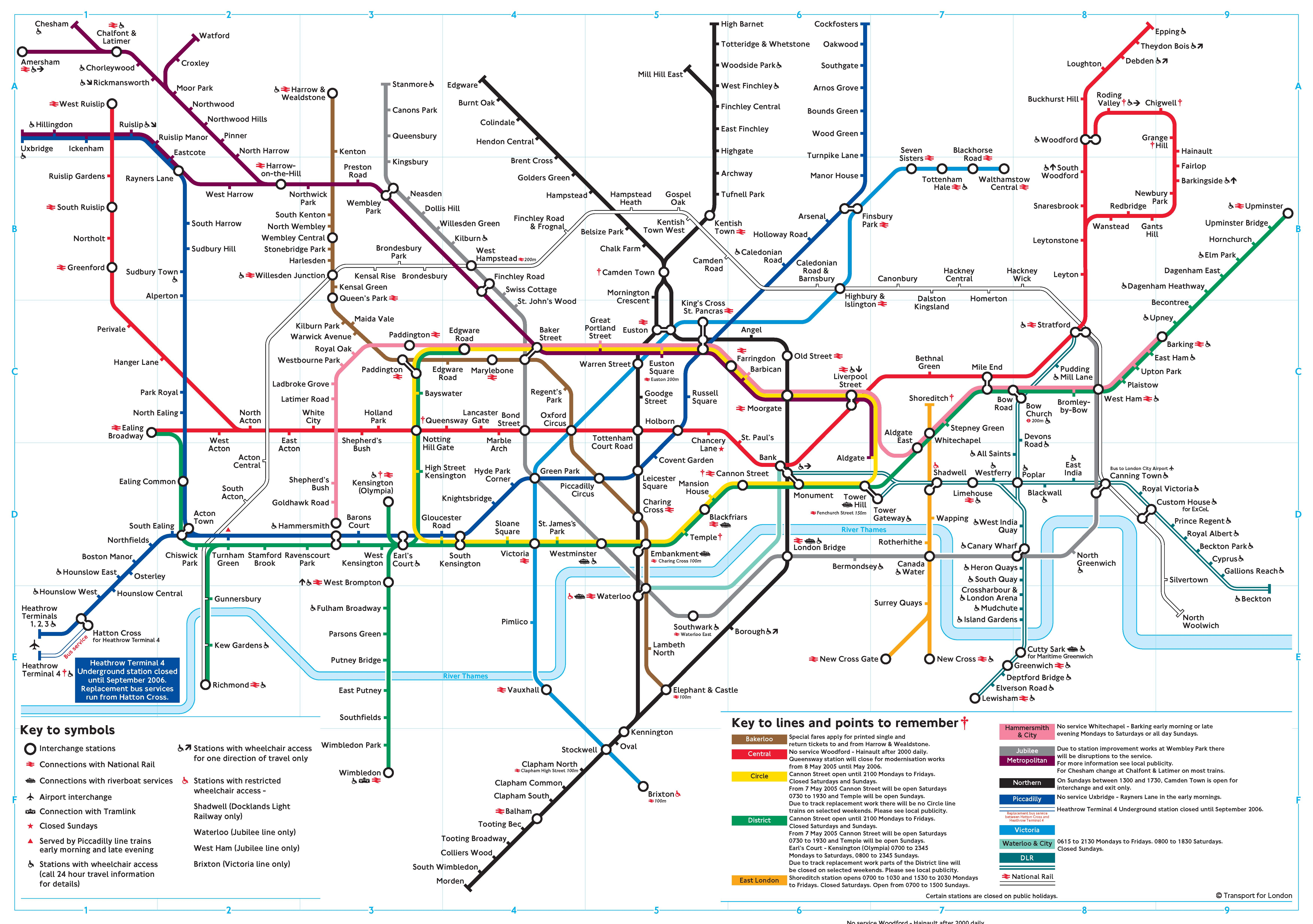 London Tube Map 2014 Printable Related Keywords & Suggestions - London ...